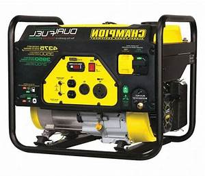 Champion Power Equipment Portable Generator Conventional