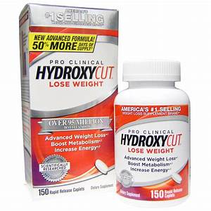 Hydroxycut  Pro Clinical Hydroxycut  150 Rapid Release Caplets