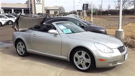 Used Lexus Convertibles by 2004 Lexus Sc430 Convertible