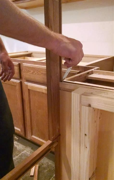 how to install a cabinet filler pneumatic addict how to install an apron sink in a stock