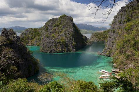 Kayangan Lake Coron Town Philippines Attractions
