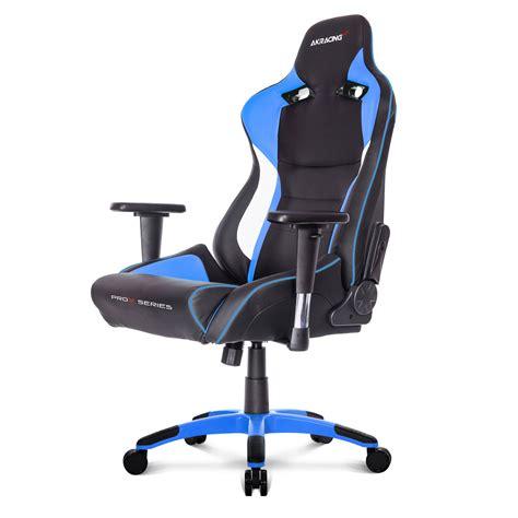 siege chronopost akracing prox gaming chair bleu siège pc akracing sur