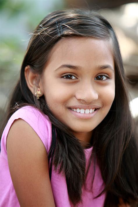 Cute Indian teen girl stock photo. Image of face, girl
