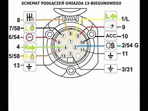 13 Pin Towing Electrics Wiring Diagram