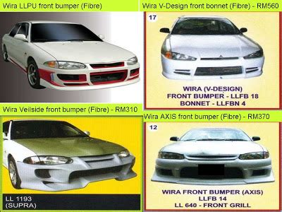 jenis kereta mitsubishi fire starting automobil bodykit proton wira evolution