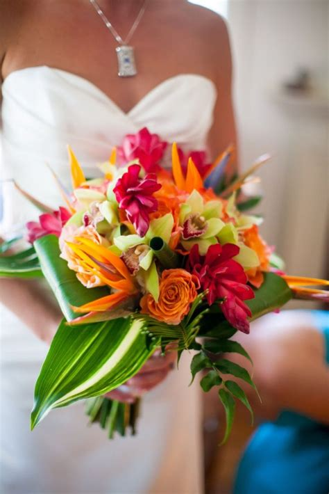 orchids bouquet wedding flower