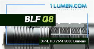 Blf Q8 Review  Powerful  5000 Lumens  Now With Discount Code
