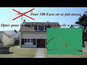 Antenne Tv Tnt Interieur : comment faire une antenne tnt maison youtube ~ Dailycaller-alerts.com Idées de Décoration