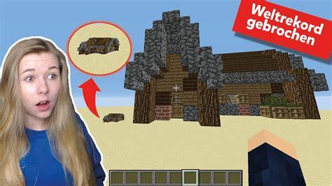 Das Größte Minecrafthaus Der Welt! (weltrekord) 11707