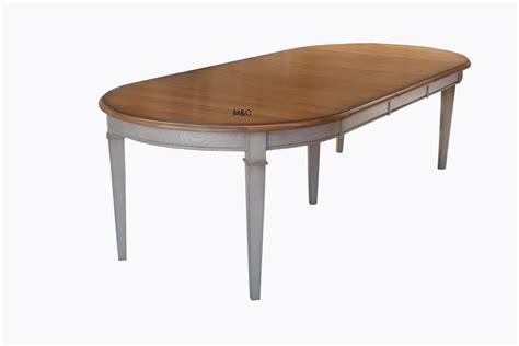 table ronde extensible avec rallonges bois massif