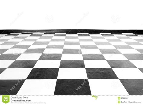 black and white floor l vintage square black and white floor royalty free stock