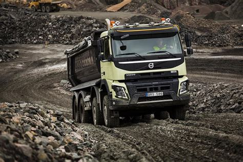 volvo truck range volvo launches automatic all wheel drive for fmx range