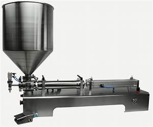 Machine À Café À Piston : benchtop piston filling machine for viscous liquids piston filler ~ Melissatoandfro.com Idées de Décoration