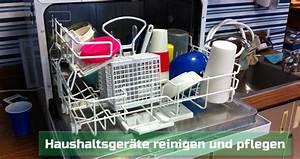 Waschmaschine Richtig Reinigen : geschirrsp ler und waschmaschinen richtig reinigen ~ Markanthonyermac.com Haus und Dekorationen