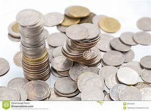 Stack Of Coins Stock Photos - Image: 33376843