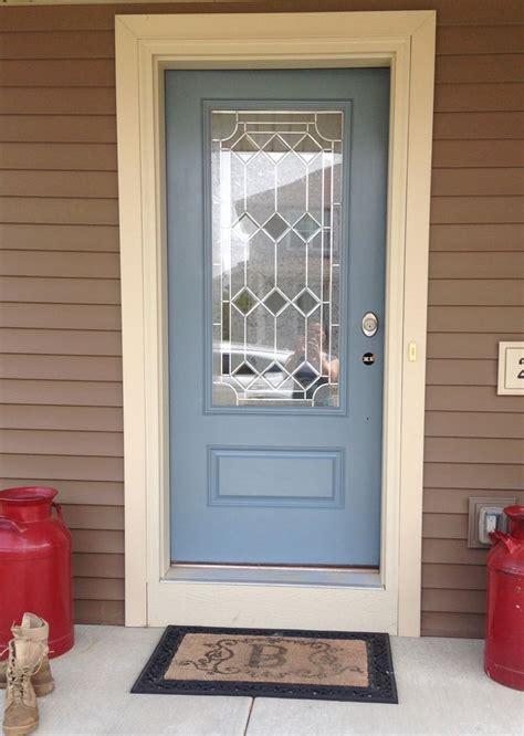 Front Door  Color Hamilton Blue  Benjamin Moore
