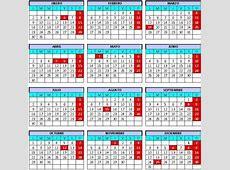 Calendario Laboral Extremadura 2012 deFinanzascom