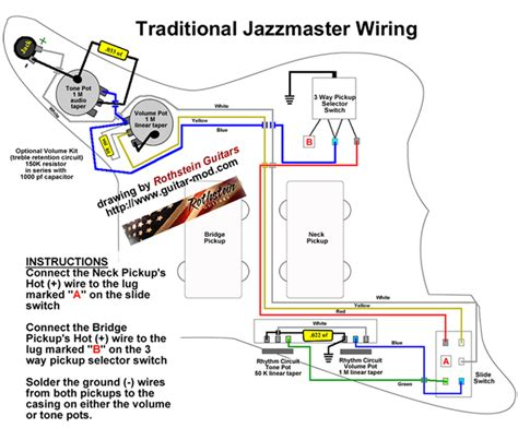 Jazzmaster Wiring Diagram Click See Larger Image