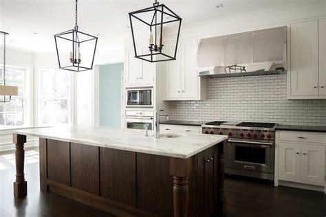 kitchen back splash ideas white and brown kitchen with darlana medium lanterns