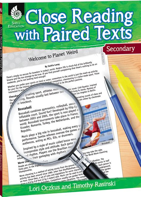 close reading  paired texts secondary teachers