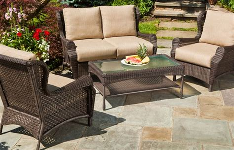 Wicker Outdoor Furniture Sale by Trendy Patio Chairs On Sale Brown Resin Wicker Furniture