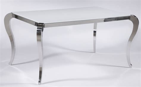 modern dining table legs santa fe white frosted glass contemporary dining table