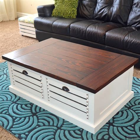 crate storage coffee table  stools  tool belt
