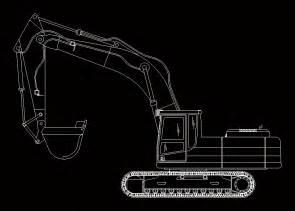 excavator dwg block  autocad designs cad