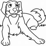 Dog Barking Cliparts Clipart Drawings Dogs sketch template