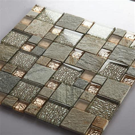 grey mosaic kitchen wall tiles grey glass mosaic tile marble tile wall 6964