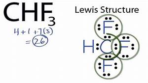 Chf3 Lewis Structure  How To Draw The Lewis Structure For Chf3