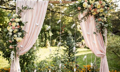 Garden Decoration Wedding by Garden Wedding Decoration Ideas For Your Backyard Reception