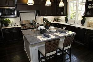 34 kitchens with dark wood floors pictures With kitchen cabinet trends 2018 combined with make vinyl stickers