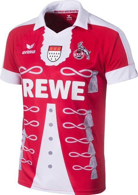 Fc Koln Erima 1 Fc Köln 2015 Karneval Kit Jersey