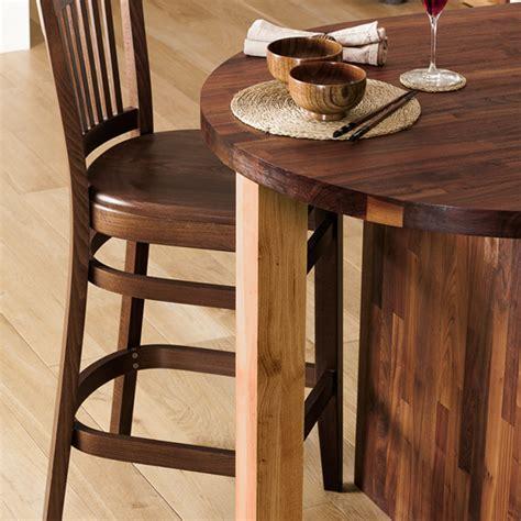 oak breakfast bar leg wooden worktop support legs