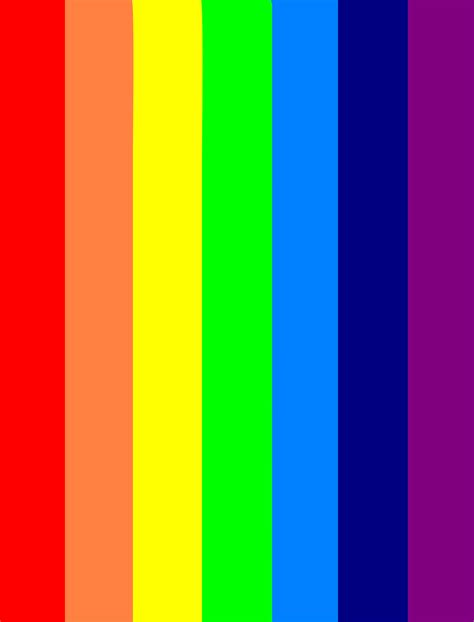 what are the colors in the rainbow images of rainbow colors impremedia net