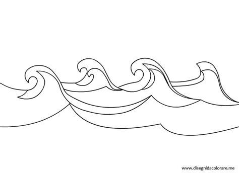 disegni da colorare mare per bambini onde mare disegni da colorare
