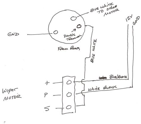 Camaro Windshield Wiper Motor Wiring Diagram