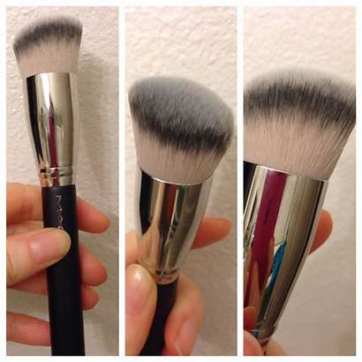 Mac Brush Cosmetics Slant Rounded Synthetic Makeup