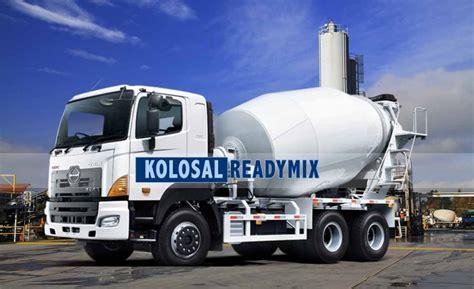 Jayamix adalah beton siap pakai dengan campuran; Supplier Beton Cor Ready Mix (Jayamix) Murah - Kolosal ...