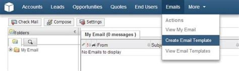 Sugarcrm Email Templates by How To Create An Email Template In Sugarcrm Fayebsg