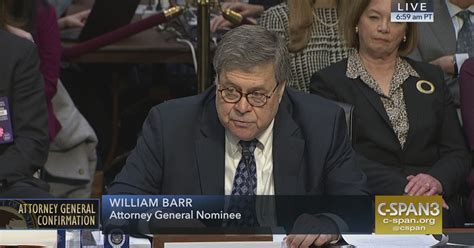 william barr attorney general confirmation hearing day