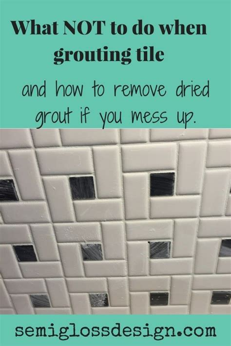 dont   mistakes  grouting grout grout