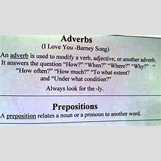 Adverbs Song Youtube