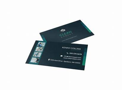 Cleaning Business Card Services Template Templates Cards