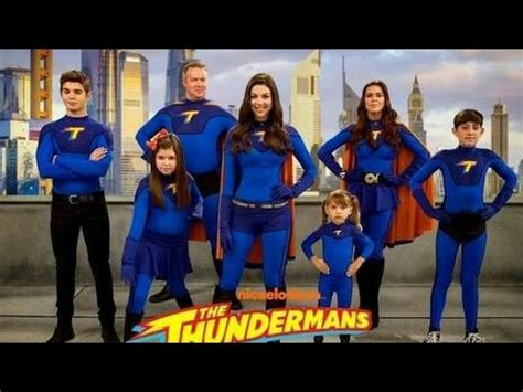 thundermans familia thunderman youtube