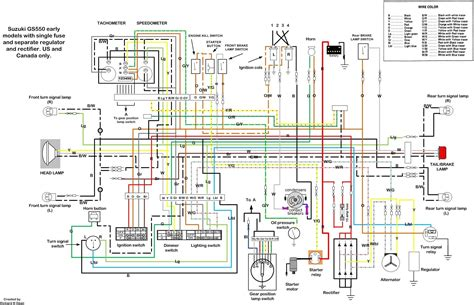 Suzuki Wiring Diagram For Free