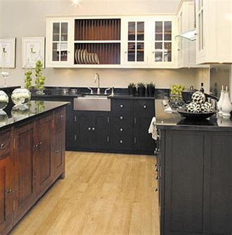 kitchen with black and white cabinets attic mag 187 archive 187 black white and wood kitchen 9627