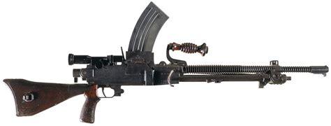 japanese type  machine gun firearms auction lot