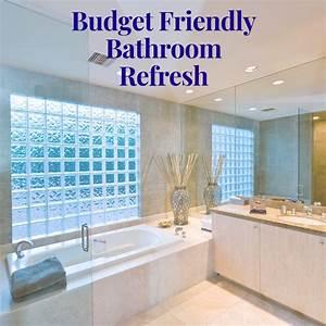 Budget-friendly, Bathroom, Refresh, Ideas